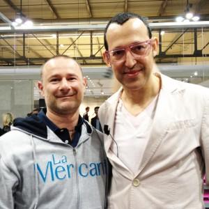 La Mercanti mit Karim Rashid