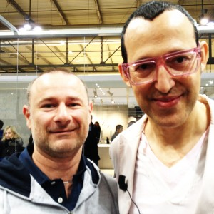 Karim Rashid mit Marco Olivieri